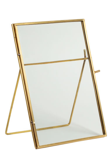 Metal photo frame - Gold - Home All | H&M CN 1