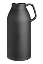 Tall stoneware vase - Black - Home All | H&M CA 2