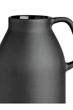 Tall stoneware vase - Black - Home All | H&M CN 3