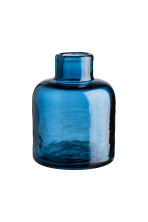 Glass mini vase - Blue - Home All | H&M CA 1