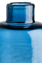 Glass mini vase - Blue - Home All | H&M CA 2