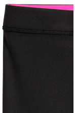 3/4-length sports tights - Black - Kids | H&M CN 4
