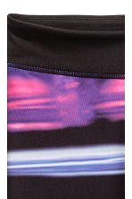 Sports tights - Purple/Multicoloured -  | H&M 3