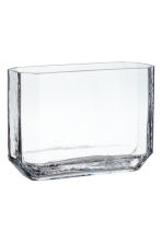 Glass vase - Clear glass - Home All | H&M IE 2