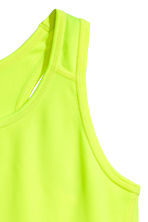 Sports top - Neon yellow - Kids | H&M 3