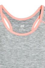 Sports top - Dark grey - Kids | H&M 3