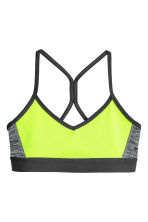 Sports top - Neon yellow - Kids | H&M CN 1