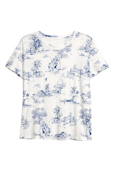 H&M+ Top estampado