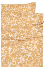 Patterned duvet cover set - Mustard yellow - Home All | H&M CA 2