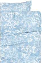 Patterned duvet cover set - Light blue - Home All | H&M CN 2
