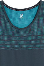 Seamless running vest - Dark blue - Men | H&M 4