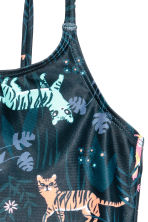 Fully lined swimsuit - Black/Patterned - Kids | H&M 2