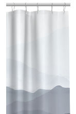 Patterned Shower Curtain - Blue/patterned -  | H&M CA 2
