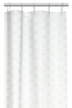 Patterned shower curtain - White/Patterned - Home All | H&M GB 2
