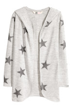 Light grey marl/Stars