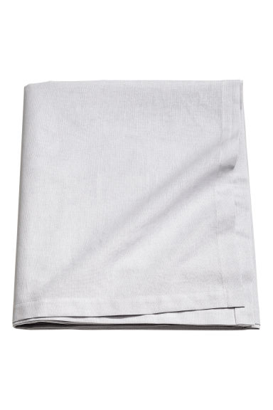Nappe en coton - Gris clair - Home All | H&M FR