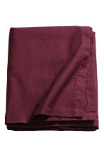 Cotton tablecloth - Burgundy - Home All | H&M GB 1