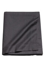 Slub-weave tablecloth - Anthracite grey - Home All | H&M CA 1
