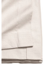 Slub-weave tablecloth - Light beige - Home All | H&M CA 2