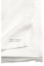 Washed linen tablecloth - White - Home All | H&M CN 2