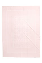 Patterned cotton tablecloth - Light pink - Home All | H&M CA 2
