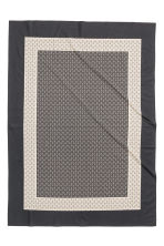Patterned tablecloth - Anthracite grey - Home All | H&M CN 2
