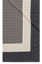 Patterned tablecloth - Anthracite grey - Home All | H&M CN 3