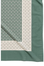 Patterned tablecloth - Moss green - Home All | H&M CN 3