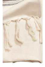 Jacquard-patterned tablecloth - Natural white/Striped - Home All | H&M CN 4