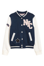 Baseball jacket - Dark Blue/New York - Kids | H&M 2