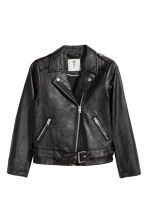 Biker jacket - Black - Kids | H&M CA 2