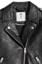 Biker jacket - Black - Kids | H&M CA 3