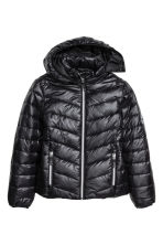 Padded jacket - Black - Kids | H&M CN 2
