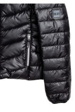 Padded jacket - Black - Kids | H&M CN 3