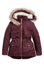 Padded parka - Burgundy - Kids | H&M CN 2