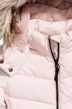 Padded jacket - Powder pink -  | H&M 4