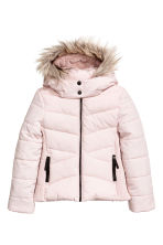 Padded jacket - Powder pink -  | H&M 3