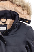Padded parka - Dark blue - Kids | H&M 4