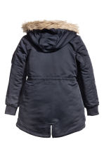 Padded parka - Dark blue - Kids | H&M 3