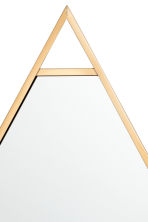 Metal-framed mirror - Gold - Home All | H&M CN 2