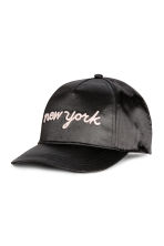 Cap with an appliqué - Black/New York - Kids | H&M 1
