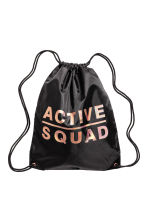 Gym bag - Black -  | H&M CA 1