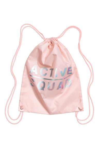 Gym bag - Powder pink - Kids | H&M CN 1