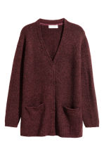 Knitted cardigan - Burgundy - Kids | H&M 2