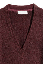 Knitted cardigan - Burgundy - Kids | H&M 3