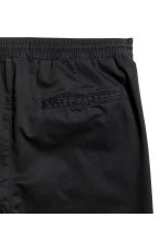 Knee-length twill shorts - Black - Men | H&M CN 3