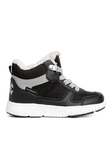 Waterproof hi-tops - Black - Kids | H&M 1