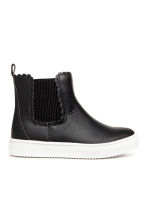 Pile-lined boots - Black -  | H&M 2
