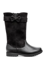 Warm-lined Boots - Black - Kids | H&M CA 1
