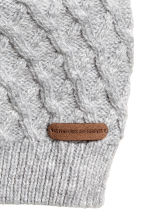 Textured-knit Hat - Gray -  | H&M CA 2